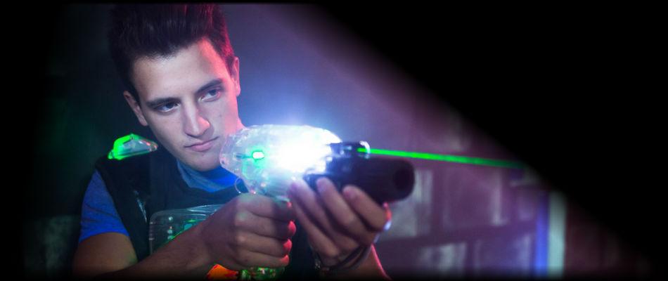 Hráč Laser Game