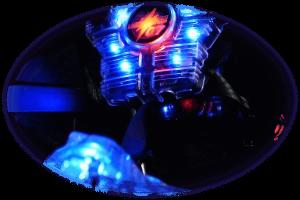 člen laser game vesta