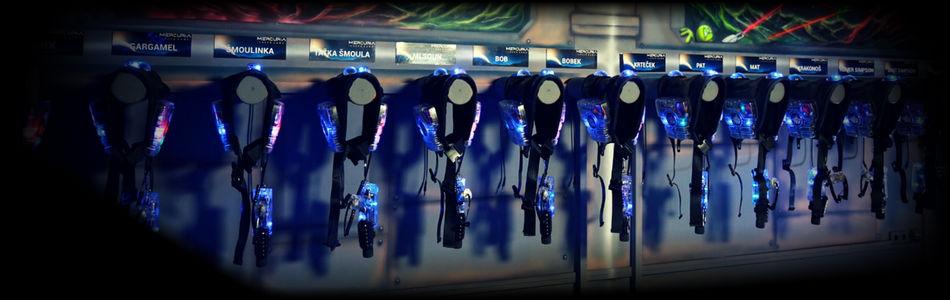 Herní módy v laser game