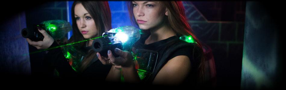 Laser game kroužek